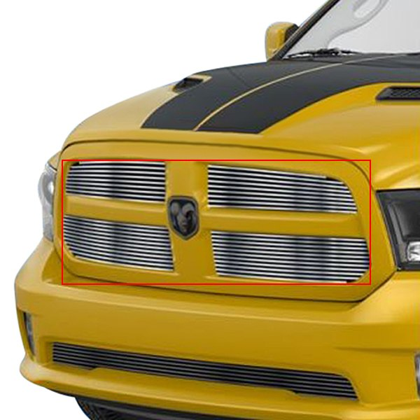 buy cheap APG® GR04FEI19C - 4-Pc Hairline Horizontal Billet Main Grille for 2015 RAM 1500 TRUCK Ebay & Amazon