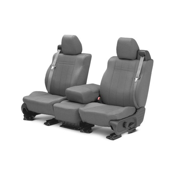 buy cheap CalTrend® DG279-08GA - SportsTex 1st Row Light Gray Custom Seat Covers for 2015 RAM 1500 TRUCK Ebay & Amazon