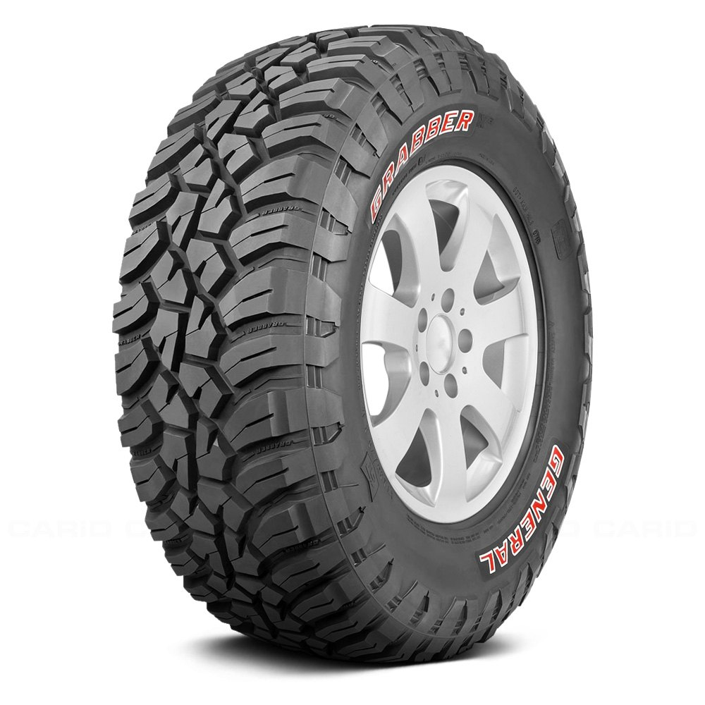 buy cheap GENERAL® 04505970000 - GRABBER X3 WITH RED LETTERING (37X12.50R18 Q) for 2015 RAM 1500 TRUCK Ebay & Amazon