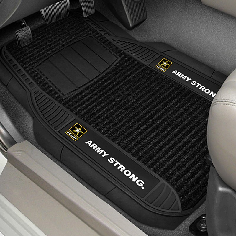buy cheap FanMats® 15684 - 1st Row Deluxe Vinyl Car Mats with US Army Logo for 2015 RAM 1500 TRUCK Ebay & Amazon