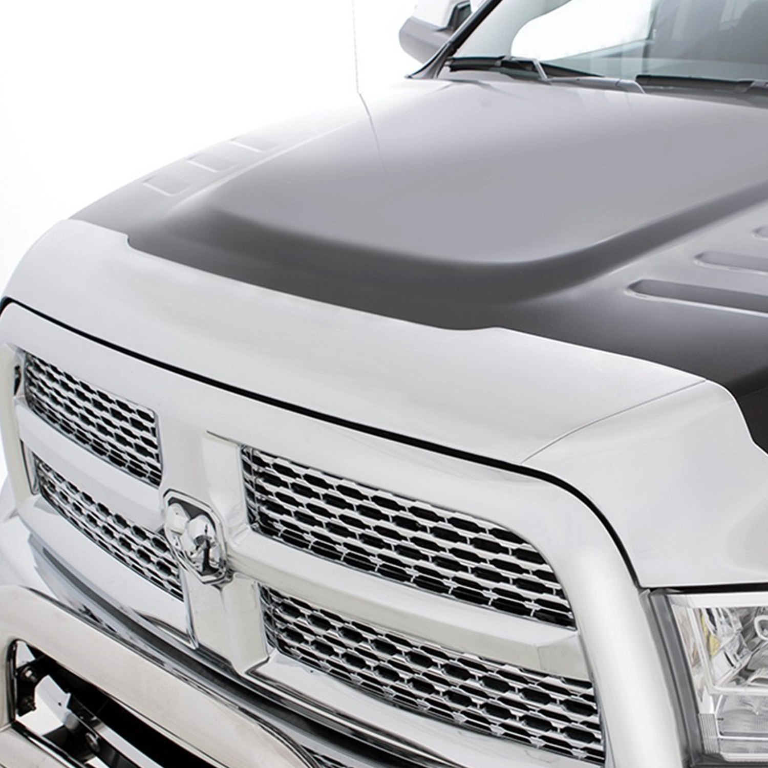 buy cheap Lund® 738004 - Chrome Hood Defender for 2015 RAM 1500 TRUCK Ebay & Amazon