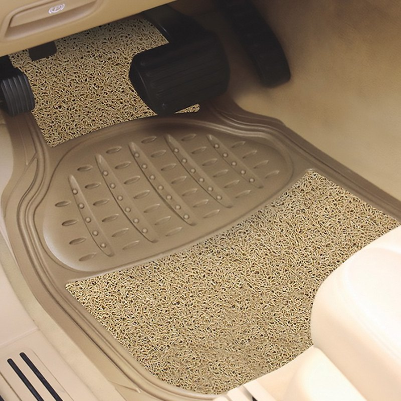 buy cheap Pilot® FM-08TSP - Heavy Duty 1st & 2nd Row Rubber/Sponge Tan Floor Mats for 2015 RAM 1500 TRUCK Ebay & Amazon