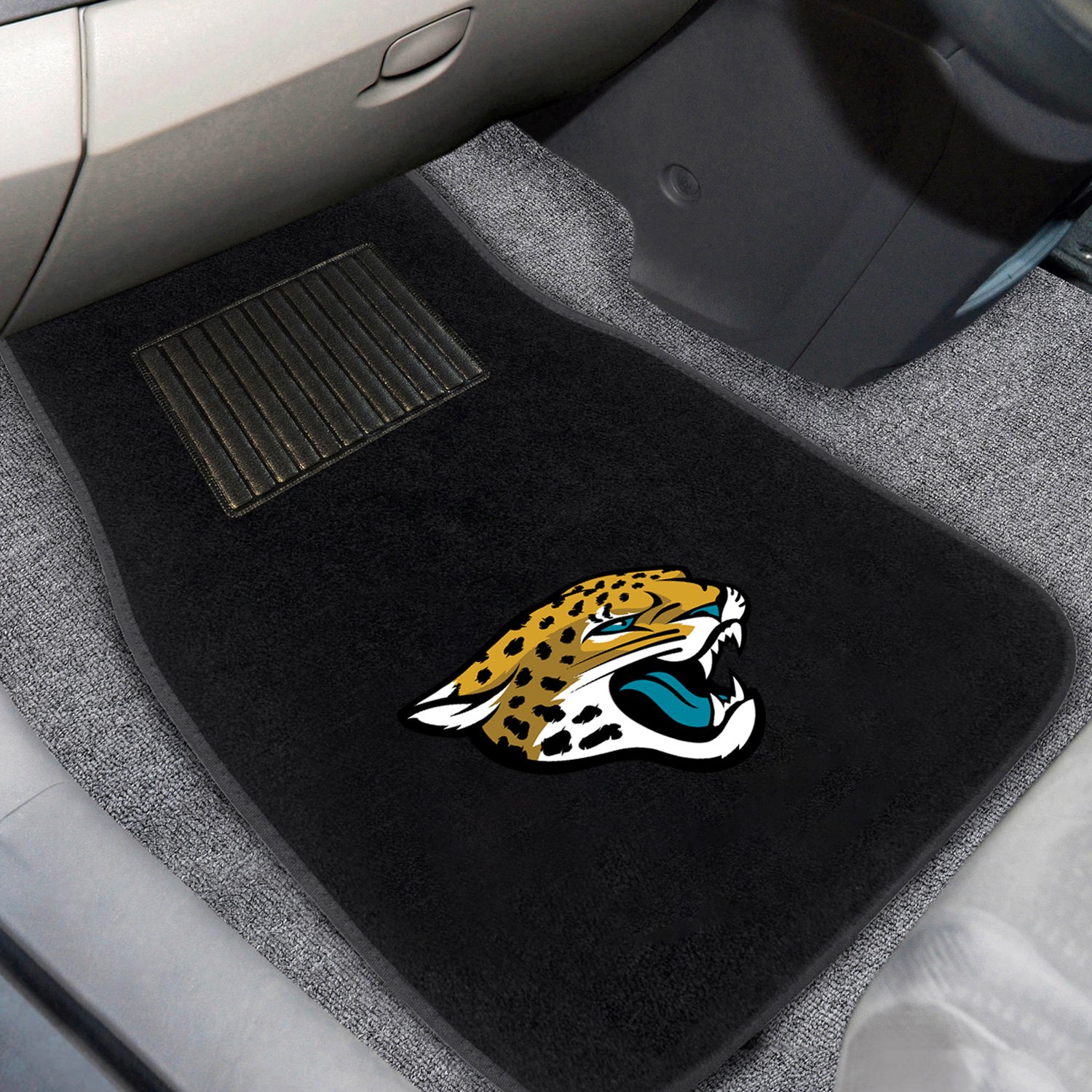 buy cheap FanMats® 21540 - Jacksonville Jaguars Logo on Embroidered Floor Mats for 2015 RAM 1500 TRUCK Ebay & Amazon