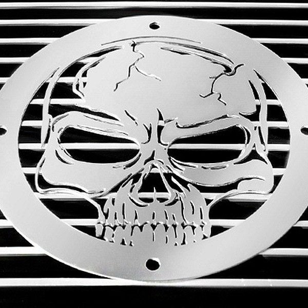 buy cheap T-Rex® L1009 - Skull Polished Grille Badge for 2015 RAM 1500 TRUCK Ebay & Amazon