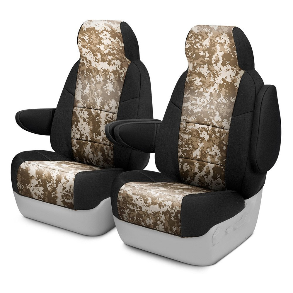 buy cheap Coverking® CSC2PD07RM1068 - Digital 1st Row Camo Sand Custom Seat Covers for 2015 RAM 1500 TRUCK Ebay & Amazon