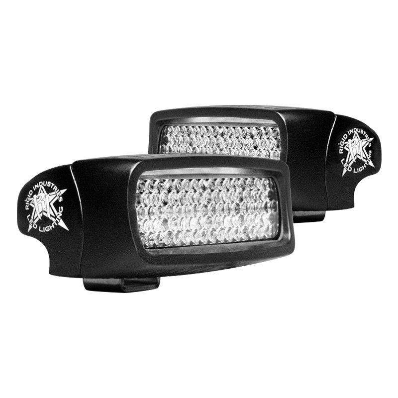 buy cheap Rigid Industries® 980023 - SR-Q Series Black Surface Mount Diffused LED Backup Light Kit for 2015 RAM 1500 TRUCK Ebay & Amazon
