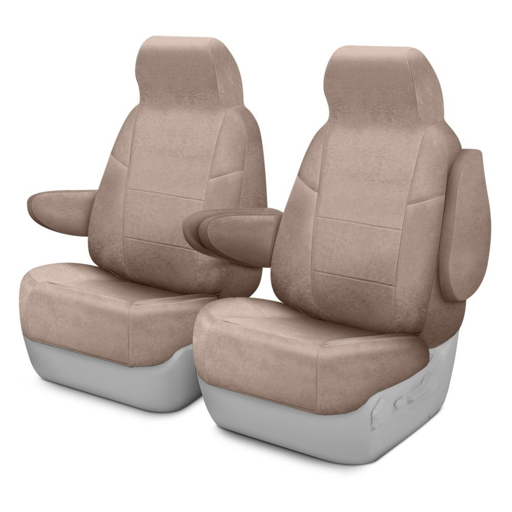 buy cheap Coverking® CSCC12RM1068 - Suede 1st Row Beige Custom Seat Covers for 2015 RAM 1500 TRUCK Ebay & Amazon