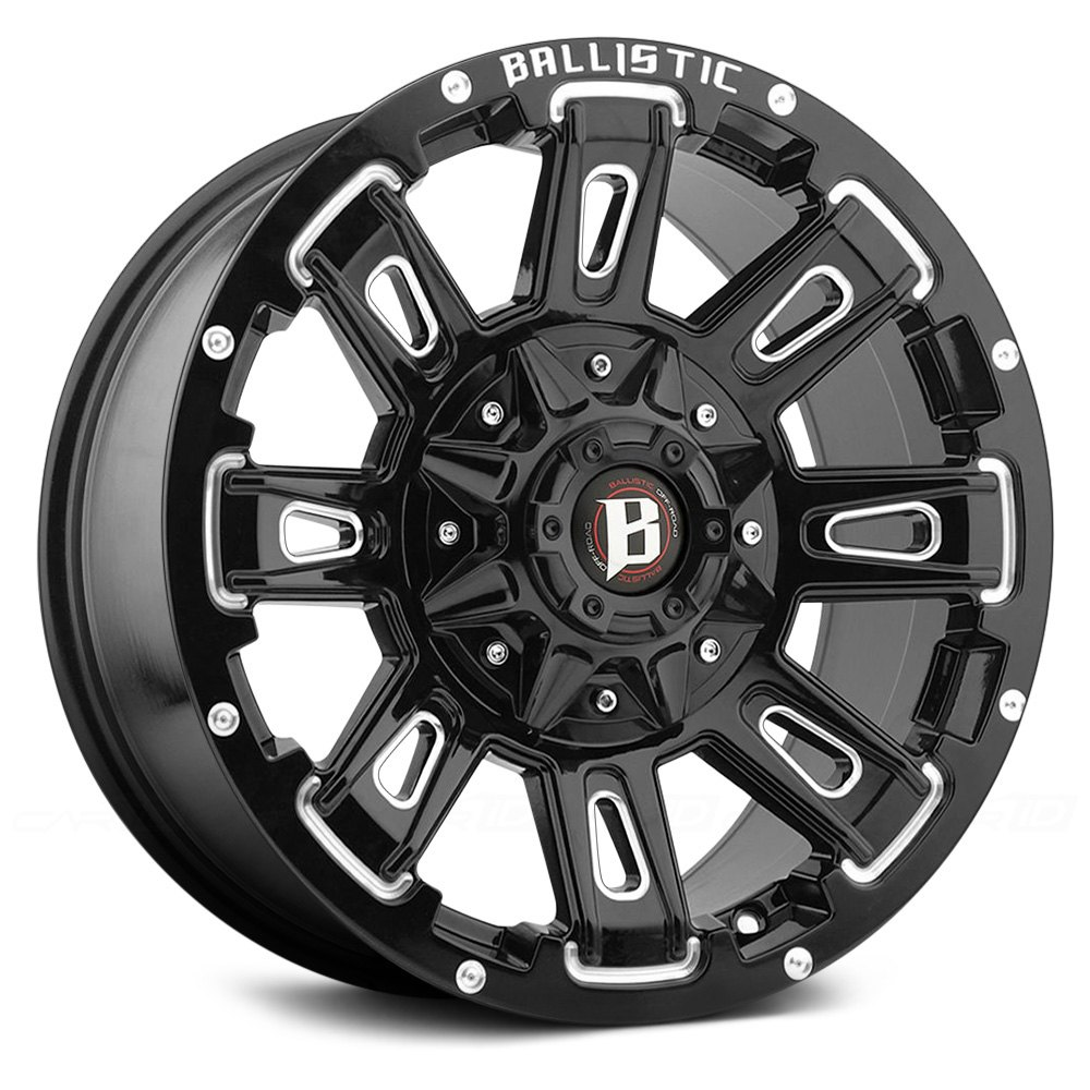 buy cheap BALLISTIC® - RAVAGE Gloss Black with Milled Accents (18