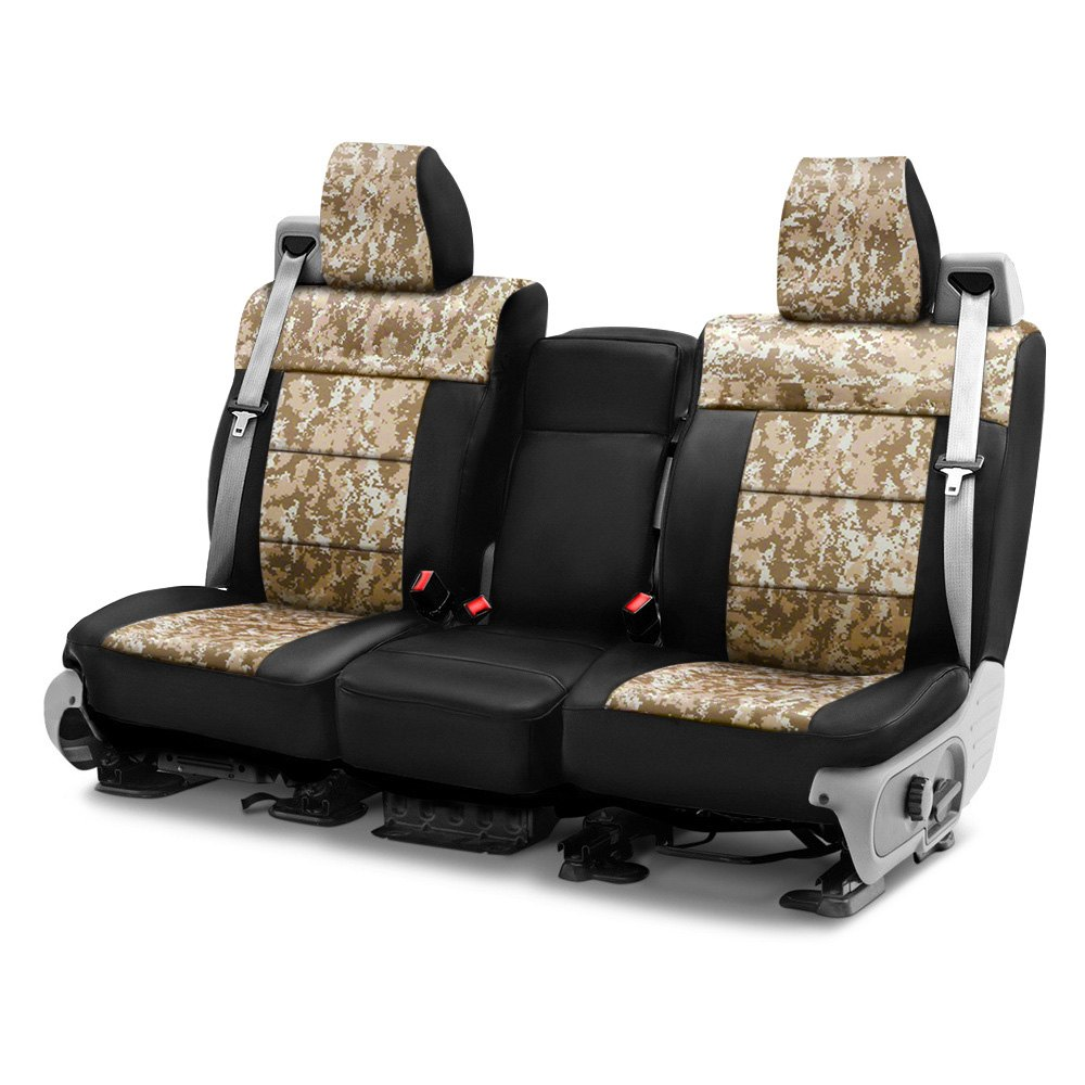 buy cheap Coverking® CSC2PD07RM1070 - Digital 1st Row Camo Sand Custom Seat Covers for 2015 RAM 1500 TRUCK Ebay & Amazon
