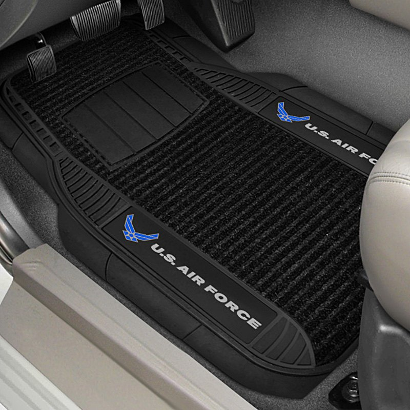 buy cheap FanMats® 15728 - 1st Row Deluxe Vinyl Car Mats with Air Force Logo for 2015 RAM 1500 TRUCK Ebay & Amazon