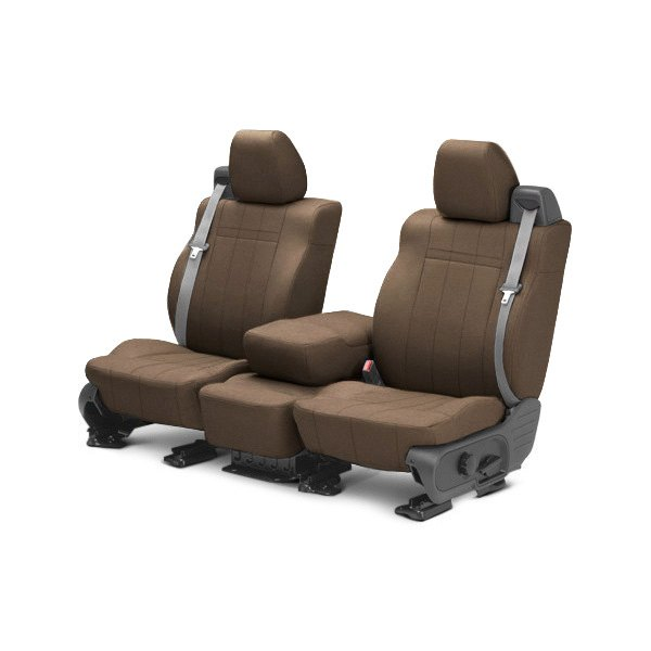 buy cheap CalTrend® DG279-06GA - SportsTex 1st Row Beige Custom Seat Covers for 2015 RAM 1500 TRUCK Ebay & Amazon