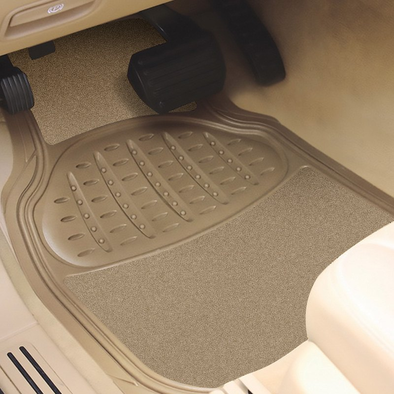 buy cheap Pilot® FMX-001T - Heavy Duty 1st & 2nd Row Rubber/Carpet Tan Floor Mats for 2015 RAM 1500 TRUCK Ebay & Amazon