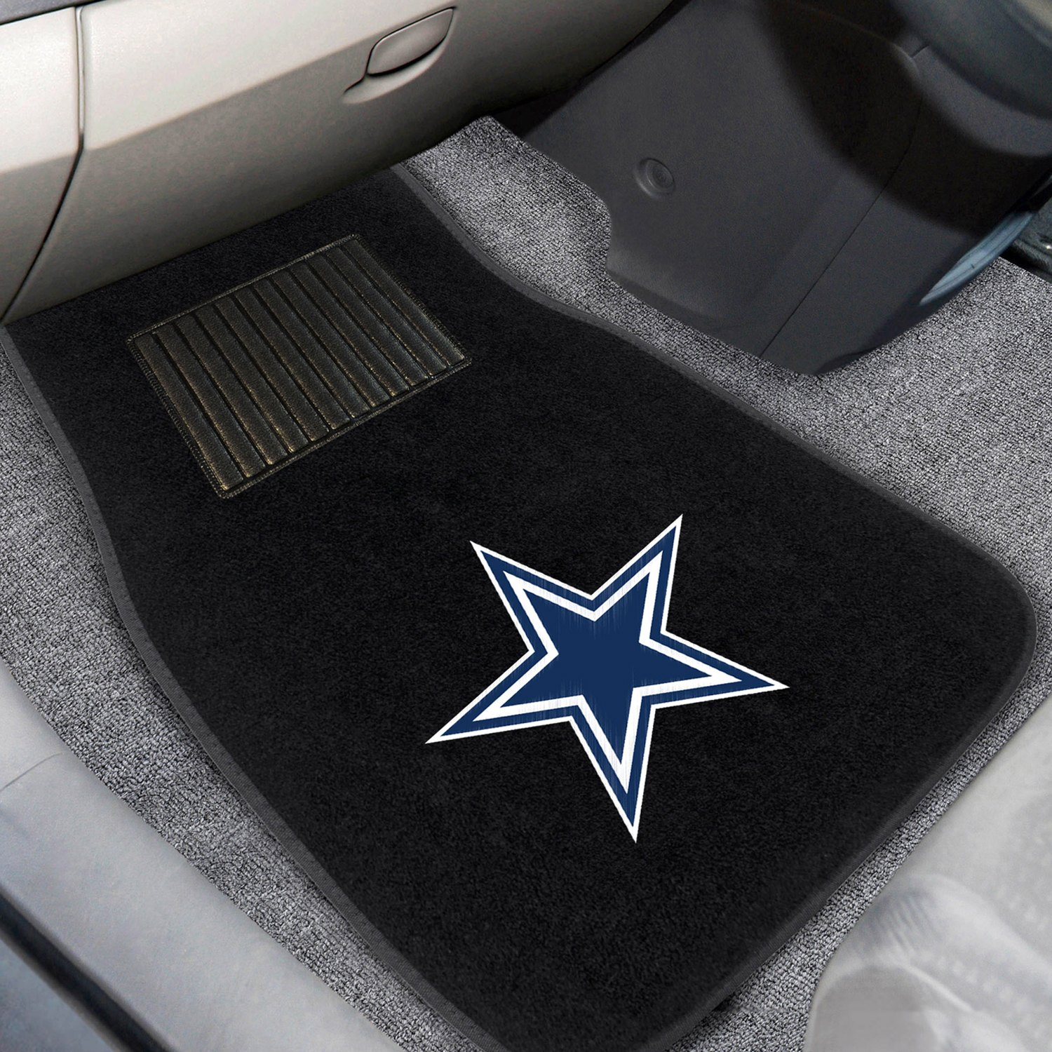 buy cheap FanMats® 10316 - Dallas Cowboys Logo on Embroidered Floor Mats for 2015 RAM 1500 TRUCK Ebay & Amazon