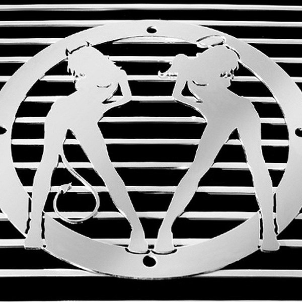 buy cheap T-Rex® L1003 - Devil/Angel Polished Grille Badge for 2015 RAM 1500 TRUCK Ebay & Amazon