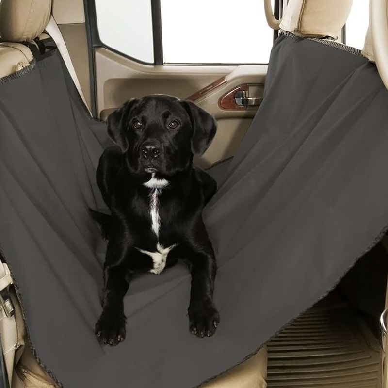 buy cheap Canine Covers® DSL1001GY - Gray Dog Rear Seat Hammock for 2015 RAM 1500 TRUCK Ebay & Amazon