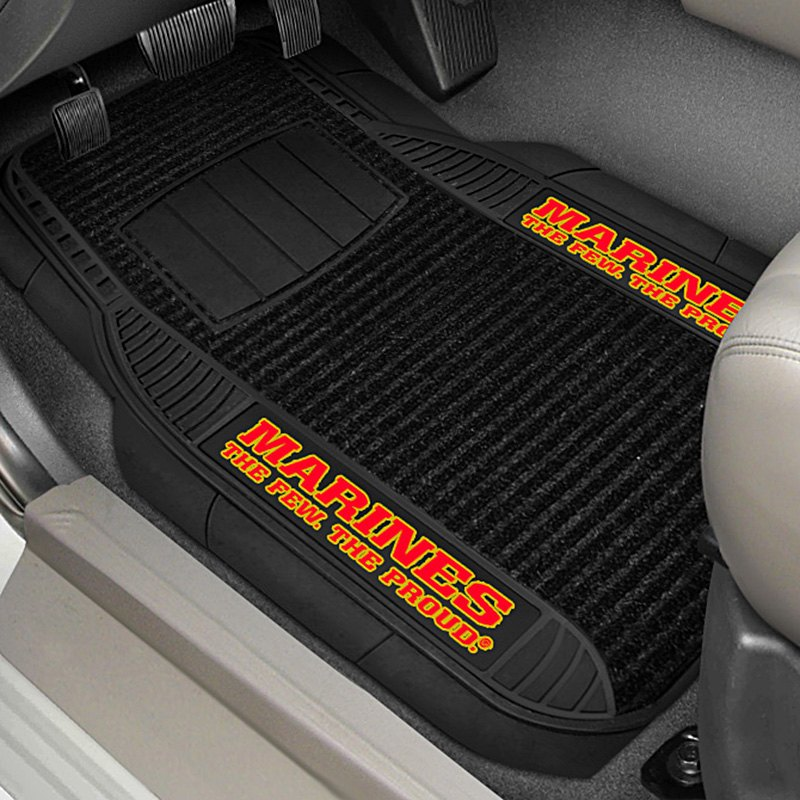buy cheap FanMats® 15715 - 1st Row Deluxe Vinyl Car Mats with Marines Logo for 2015 RAM 1500 TRUCK Ebay & Amazon