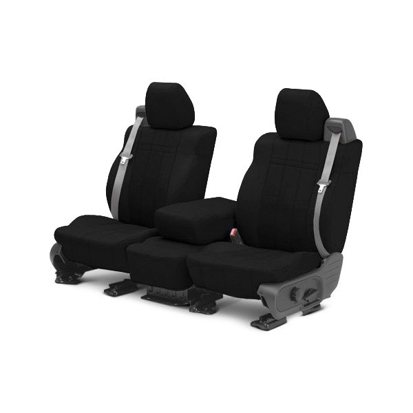 buy cheap CalTrend® DG289-01GA - SportsTex 1st Row Black Custom Seat Covers for 2015 RAM 1500 TRUCK Ebay & Amazon