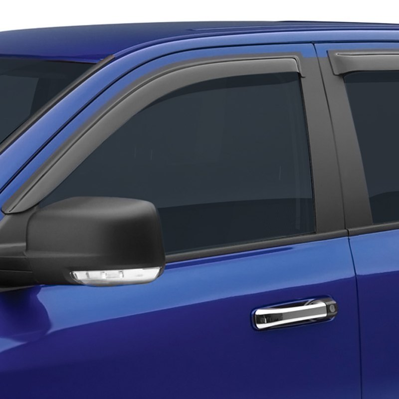 buy cheap EGR® 642651 - Tape-On Dark Smoke Front and Rear Window Visors for 2015 RAM 1500 TRUCK Ebay & Amazon