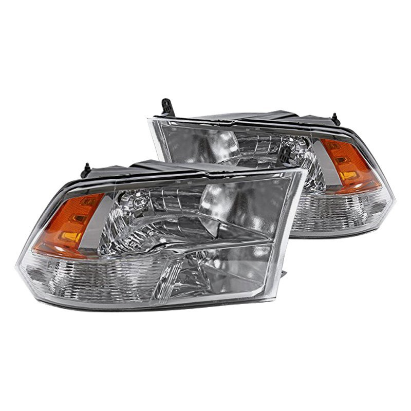 buy cheap Spec-D® 2LH-DGP09-Q-RS - Chrome Euro Headlights for 2015 RAM 1500 TRUCK Ebay & Amazon