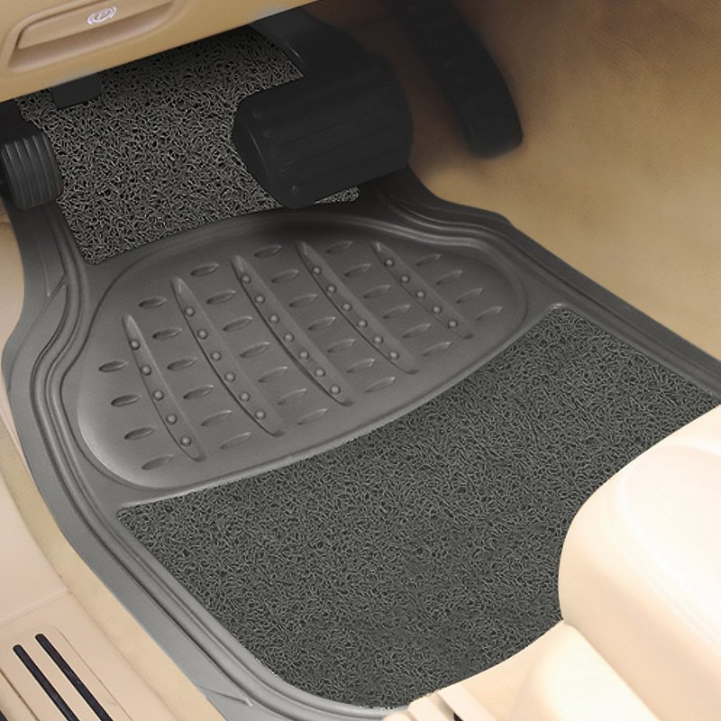 buy cheap Pilot® FM-08GSP - Heavy Duty 1st & 2nd Row Rubber/Sponge Gray Floor Mats for 2015 RAM 1500 TRUCK Ebay & Amazon