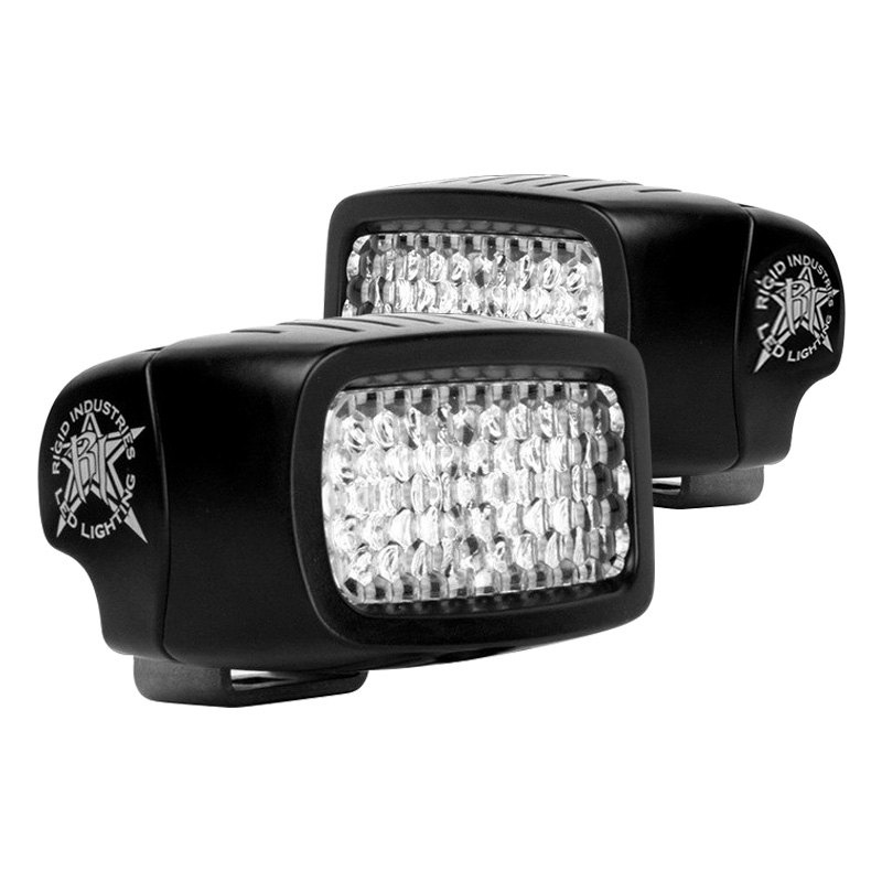 buy cheap Rigid Industries® 980003 - SR-M Series Black Surface Mount Diffused LED Backup Light Kit for 2015 RAM 1500 TRUCK Ebay & Amazon