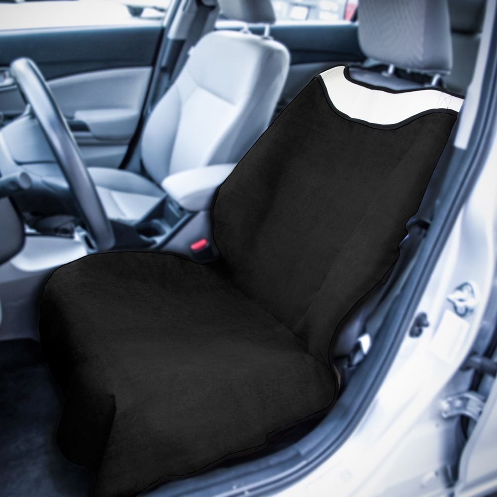 buy cheap OxGord® SCFS-S01F-BK - Sweat Towel Black Seat Cover for 2015 RAM 1500 TRUCK Ebay & Amazon