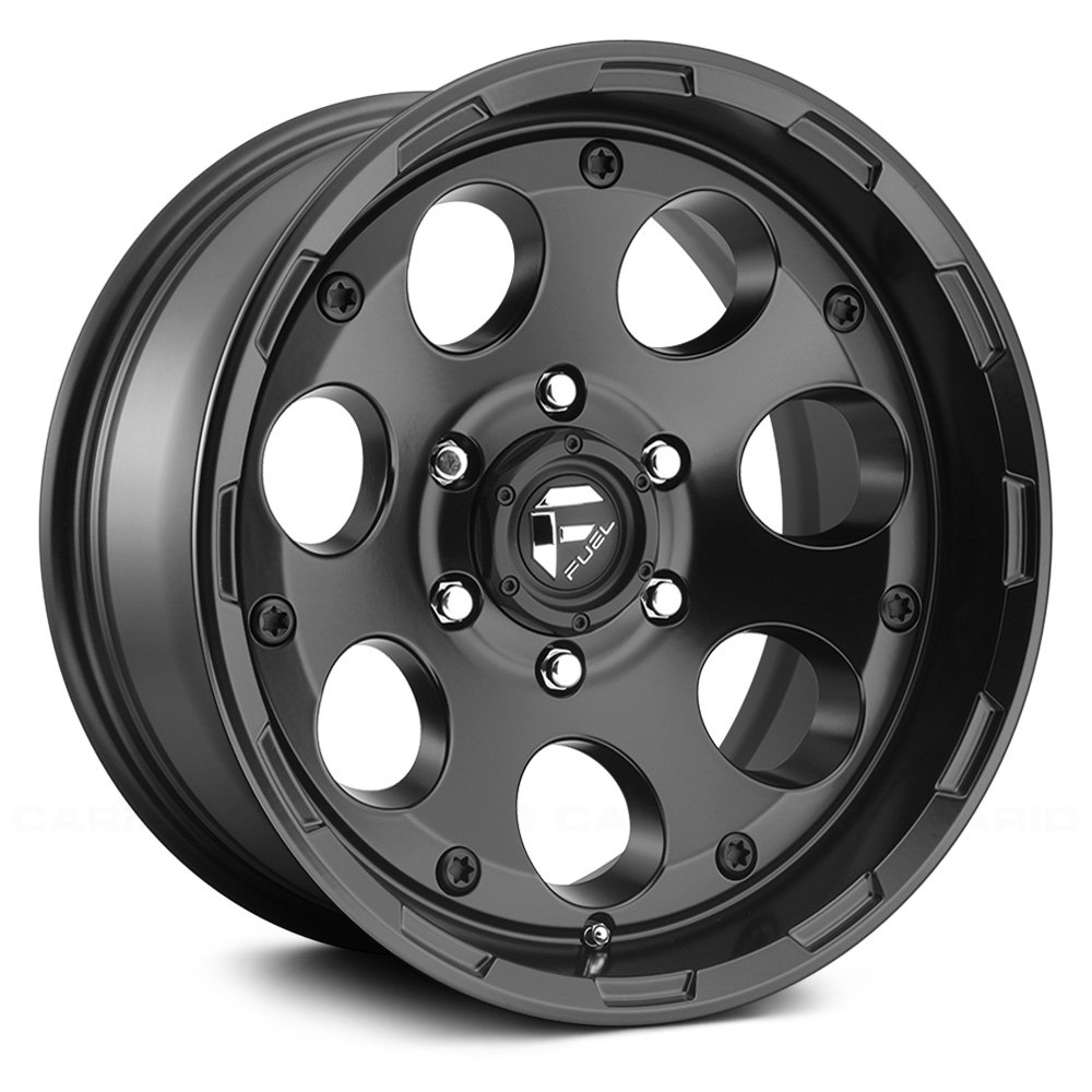 buy cheap FUEL® - D608 ENDURO 1PC Matte Black (17