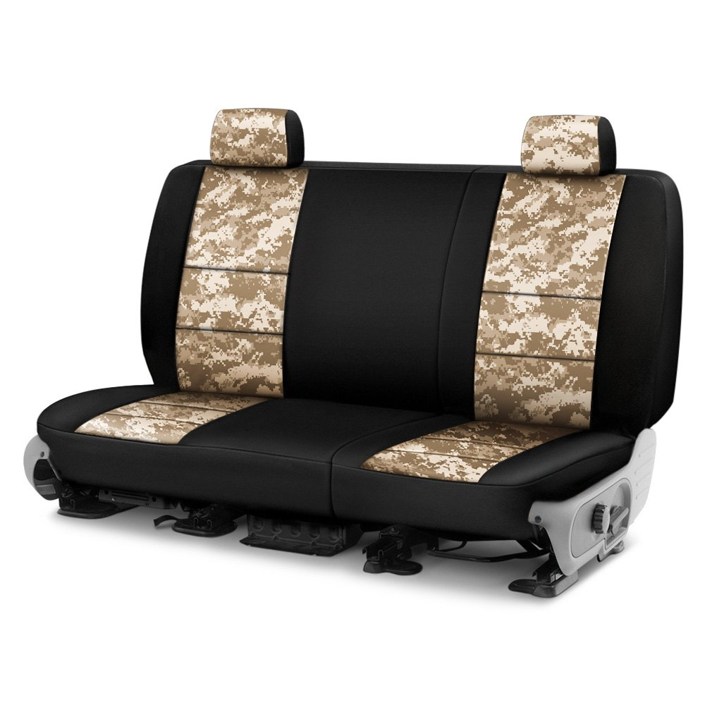 buy cheap Coverking® CSC2PD07RM1066 - Digital 2nd Row Camo Sand Custom Seat Covers for 2015 RAM 1500 TRUCK Ebay & Amazon