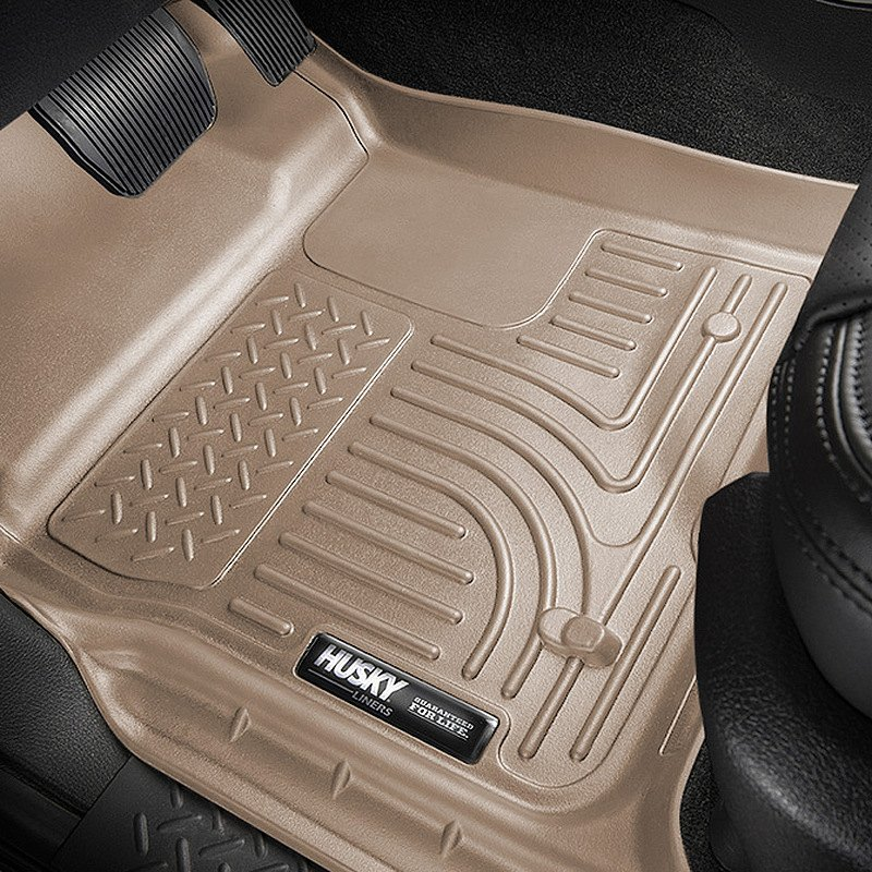 buy cheap Husky Liners® 99013 - WeatherBeater™ 1st & 2nd Row Tan Floor Liner Set for 2015 RAM 1500 TRUCK Ebay & Amazon