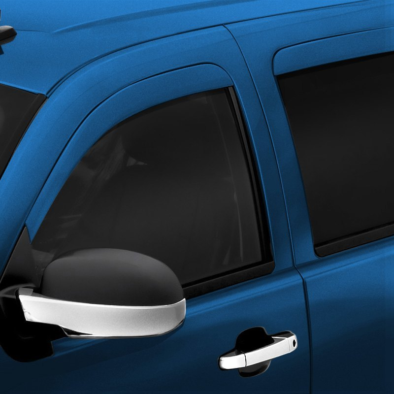 buy cheap AVS® 994004-PS2 - In-Channel Low Profile Ventvisor™ Factory Bright Silver Metallic Front and Rear Window Deflectors for 2015 RAM 1500 TRUCK Ebay & Amazon