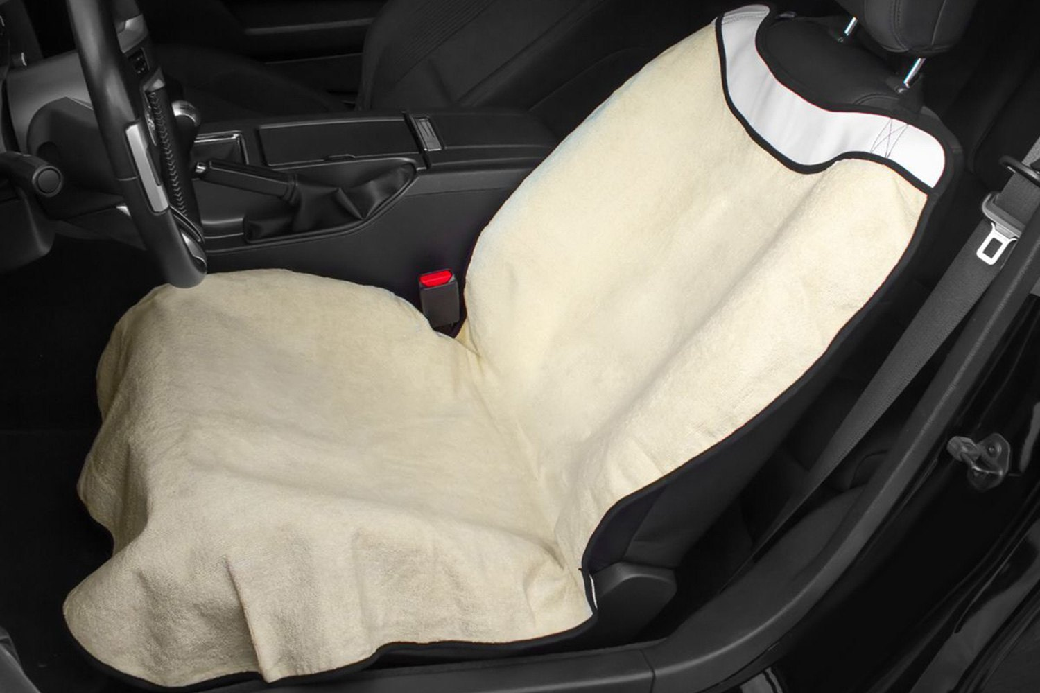 buy cheap OxGord® SCFS-S01F-BG - Sweat Towel Beige Seat Cover for 2015 RAM 1500 TRUCK Ebay & Amazon