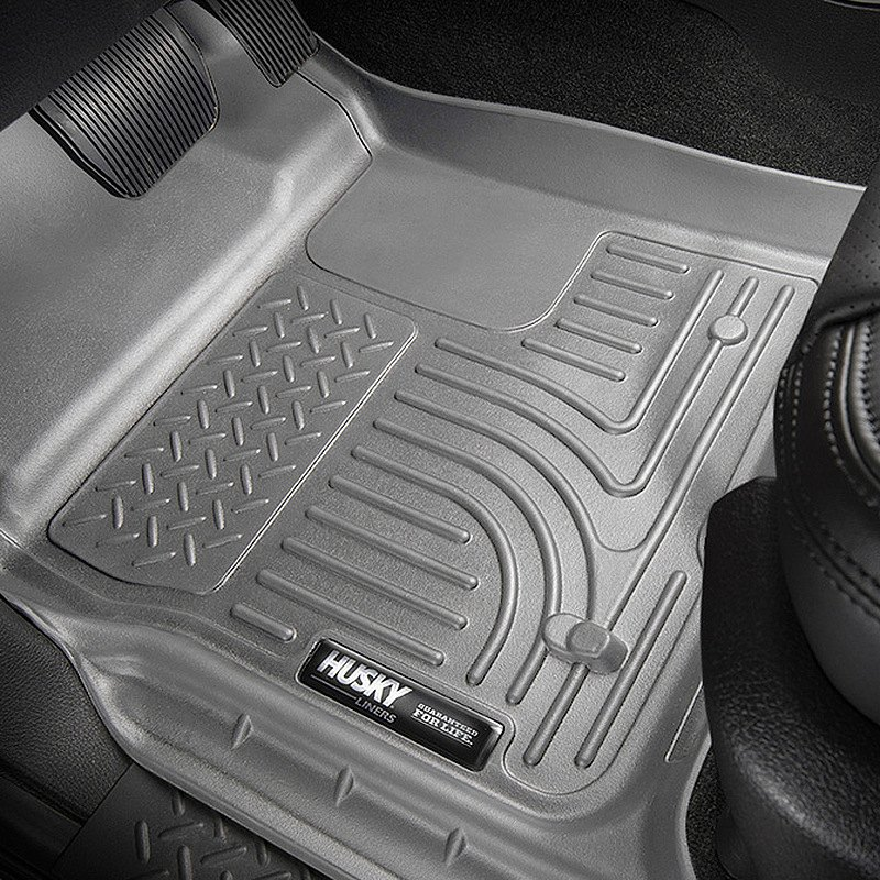 buy cheap Husky Liners® 99012 - WeatherBeater™ 1st & 2nd Row Gray Floor Liner Set for 2015 RAM 1500 TRUCK Ebay & Amazon