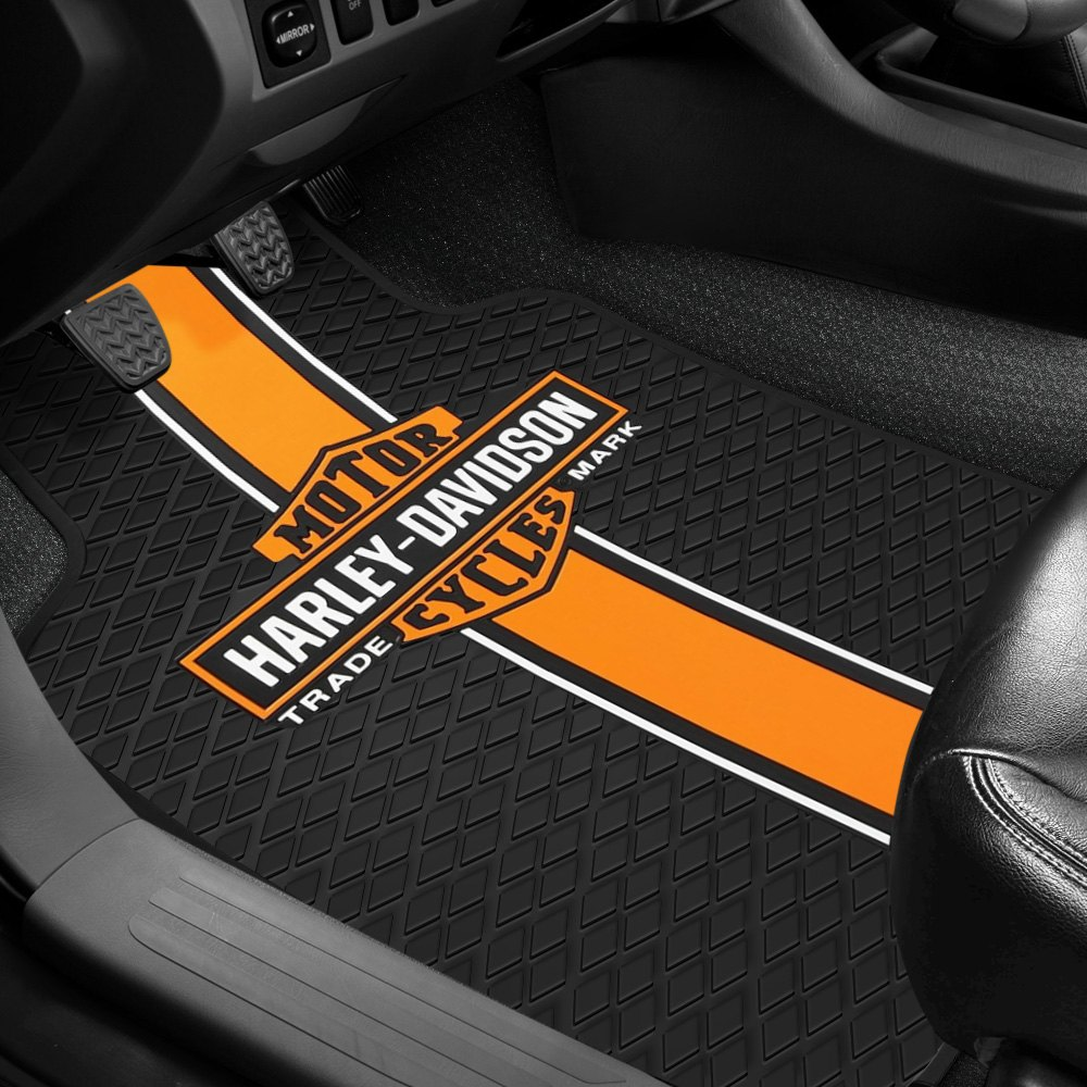 buy cheap Plasticolor® 001413R01 - 1st Row Black Rubber Floor Mats with Classic Harley-Davidson Logo for 2015 RAM 1500 TRUCK Ebay & Amazon
