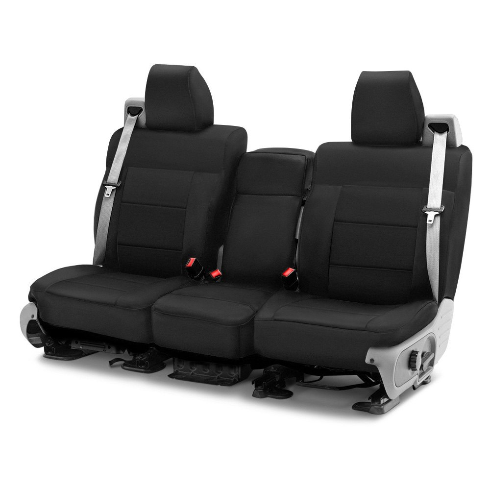 buy cheap Coverking® CSC1P1RM1071 - Polycotton Drill 1st Row Black Custom Seat Covers for 2015 RAM 1500 TRUCK Ebay & Amazon