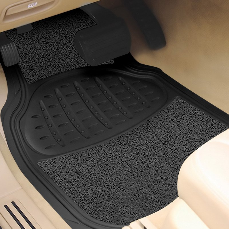 buy cheap Pilot® FM-08ESP - Heavy Duty 1st & 2nd Row Rubber/Sponge Black Floor Mats for 2015 RAM 1500 TRUCK Ebay & Amazon