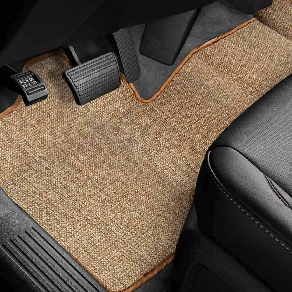 buy cheap Designer Mat® DD-392-SI-0311-1PFST-NB-NL - Sisal Auto Mat™ 1st Row Over the Hump Oak Carpeted Floor Mat for 2015 RAM 1500 TRUCK Ebay & Amazon