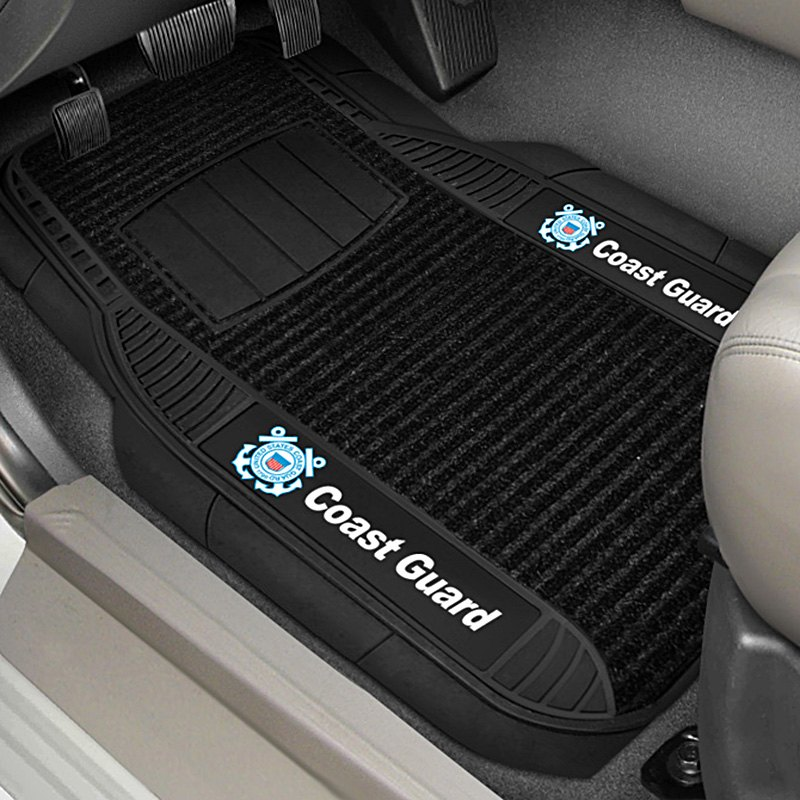 buy cheap FanMats® 15677 - 1st Row Deluxe Vinyl Car Mats with Coast Guard Logo for 2015 RAM 1500 TRUCK Ebay & Amazon