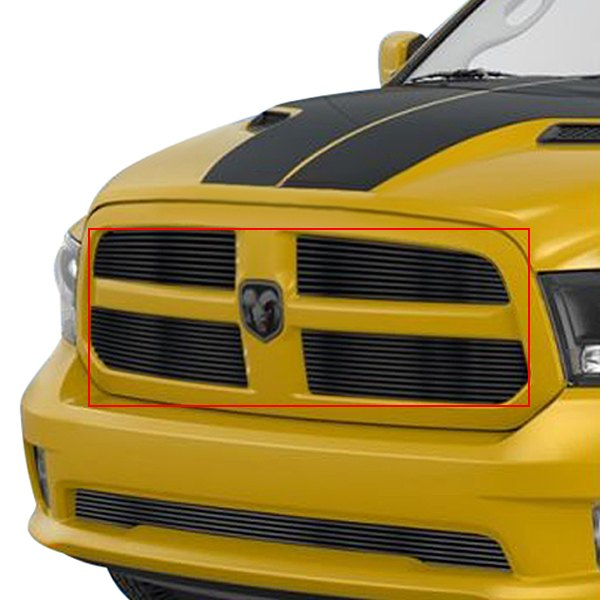 buy cheap APG® GR04FEI19J - 4-Pc Black Horizontal Billet Main Grille for 2015 RAM 1500 TRUCK Ebay & Amazon