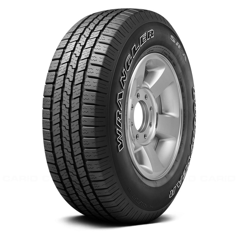 buy cheap GOODYEAR® 183612418 - WRANGLER SR-A WITH OUTLINED WHITE LETTERING (P255/70R18 T) for 2015 RAM 1500 TRUCK Ebay & Amazon
