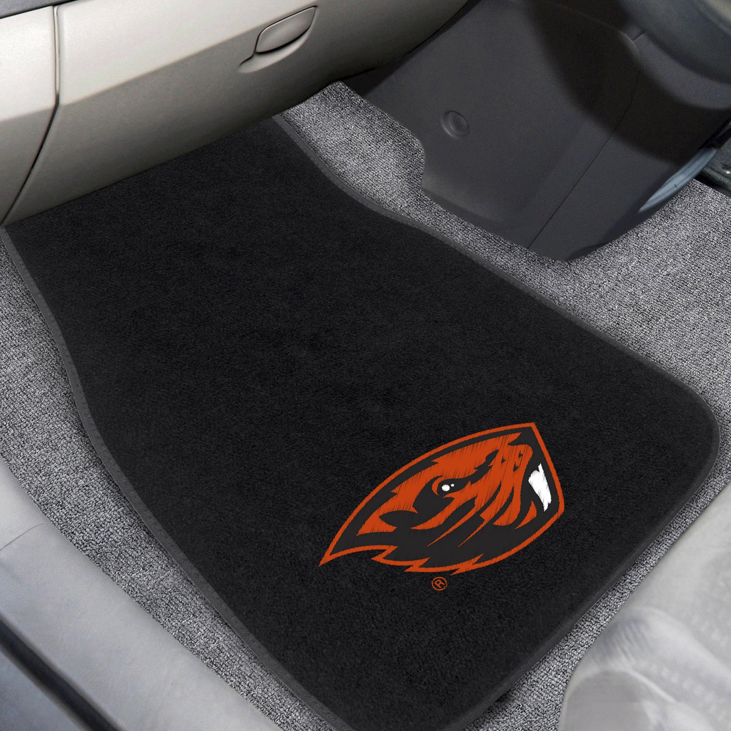 buy cheap FanMats® 20636 - Oregon State University Logo on Embroidered Floor Mats for 2015 RAM 1500 TRUCK Ebay & Amazon
