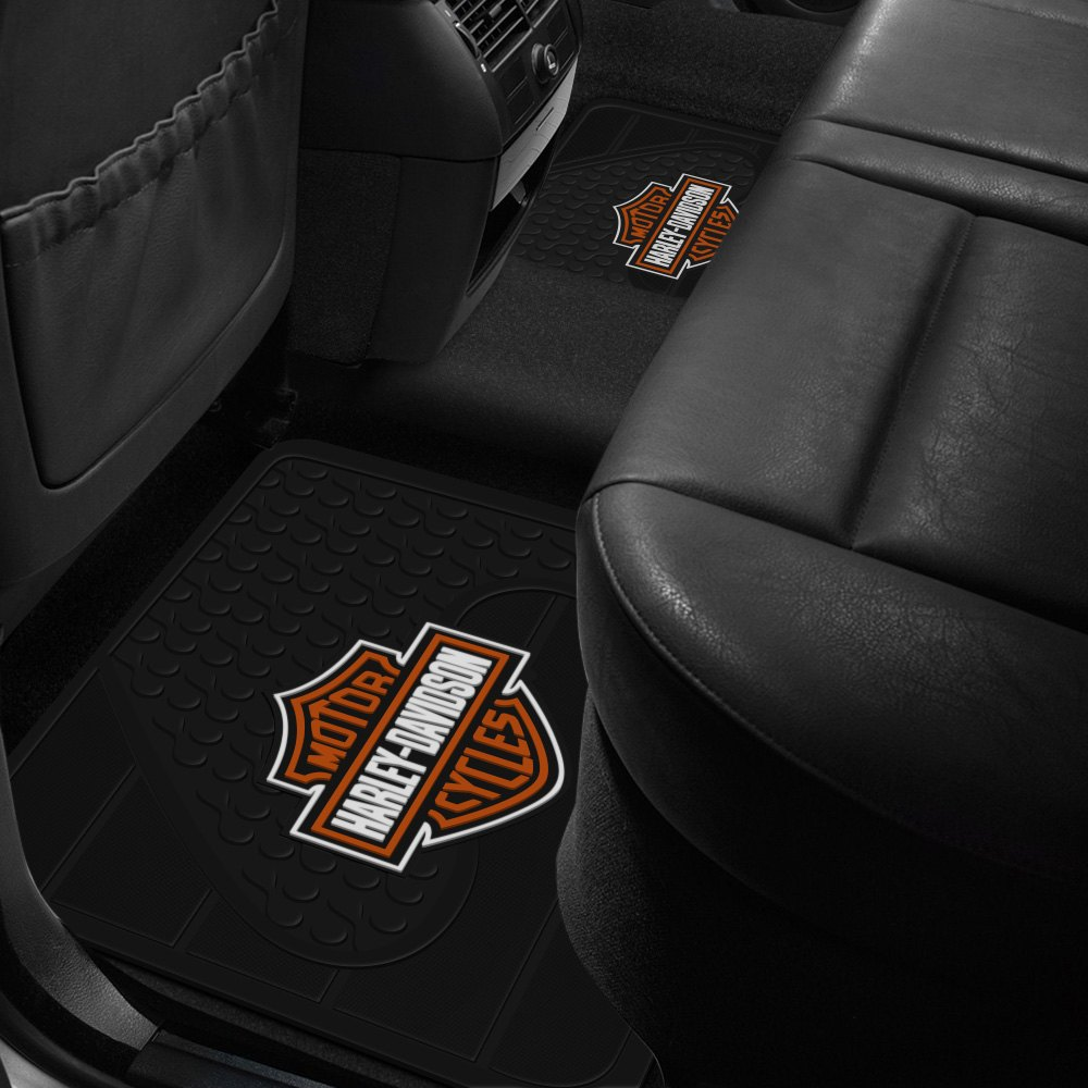 buy cheap Plasticolor® 001073R01 - 2nd Row Footwell Coverage Black Rubber Floor Mat with Orange Harley-Davidson Logo for 2015 RAM 1500 TRUCK Ebay & Amazon